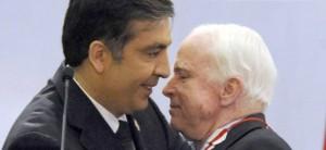 Саакашвили и Маккейн